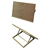 EASEL CONDA A13207 WOODEN-DRAWING BOARD 50X70CM ADJ. BACK