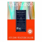 PAD WATER COLOUR FABRIANO STUDIO A4 HP 300GSM 25% COTTON 14860