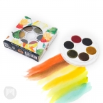PAINT WATERCOLOUR SET KOH-I-NOOR BRILLIANT AUTUMN SET OF 6 14670