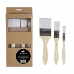BRUSH FLAT SYNTHETIC SET 3 WESTART 14984