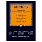 PAD ARCHES WATERCOLOUR ROUGH 300gsm A5 12SHT 141116 (replaces 04767) ***NEW*** *Back to College Sale*