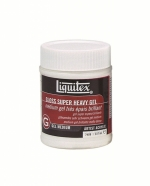 MEDIUM LIQUITEX GLOSS SUPER HEAVY GEL MEDIUM 08OZ 237ML