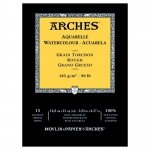 PAD ARCHES WATERCOLOUR ROUGH 300gsm A5 15SHT 141110 (replaces 04755) *** NEW*** *Back to College Sale*
