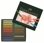 PASTEL FABER-CASTELL POLYCHROMOS 128524 - BOX OF 24 COLOURS