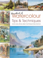 BOOK HANDBOOK OF WATERCOLOURS TIPS AND TECHNIQUES, ARNOLD LOWREY & WENDY JELBERT