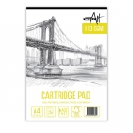 A4 WESTART CARTRIDGE PAD 110GSM 25 SHEETS 14807