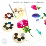 PAINT WATERCOLOUR SET KOH-I-NOOR BRILLIANT SET 24 14672