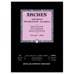 PAD ARCHES WATERCOLOUR SMOOTH 185gsm A3 15SHT 141114 (replaces 04761)