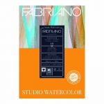 A4 FABRIANO WATER COLOUR STUDIO PAD HP 200GSM 25% COTTON 14861
