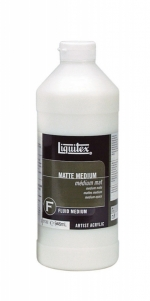 MEDIUM LIQUITEX 5108 MATTE MEDIUM 32 OZ 946ML
