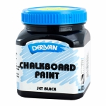 DERIVAN CHALKBOARD PAINT BLACK 250ML 15059