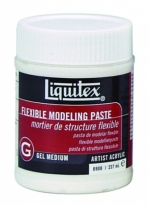MEDIUM LIQUITEX FLEXIBLE MODELLING PASTE 237ML