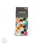 KOH-I-NOOR WATERCOLOUR PAINT SET OF 12 - BRILLANT