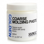 MEDIUM GOLDEN PASTE COARSE MOLDING 237ML *Special Order Only*