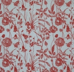 TISSUE TRANSFER TP2M RED FLOWER GARDEN (37cm x 51cm) NETT