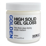 MEDIUM GOLDEN GEL HIGH SOLID GLOSS 473ML *Special Order Only*