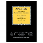 PAD ARCHES WATERCOLOUR ROUGH 185gsm A4 15SHT 141113 (replaces 04758)***NEW** *Back to College Sale*